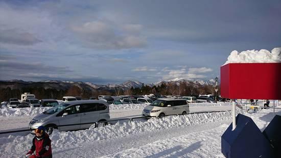 降雪後は大変です。|ハンターマウンテン塩原のクチコミ画像