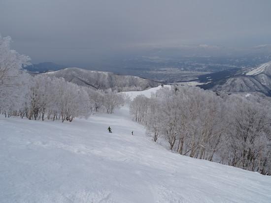 木落坂のスキーは最高です|竜王スキーパークのクチコミ画像