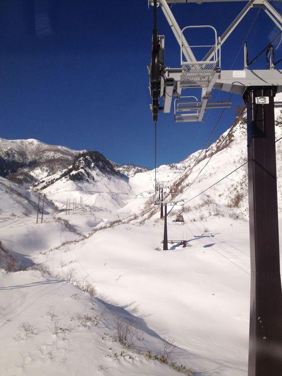 最高の天気 草津温泉スキー場のクチコミ画像